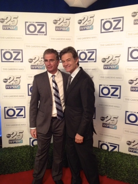 CCI SMart for Life Press page - Dr. Sass and Dr. Oz photo